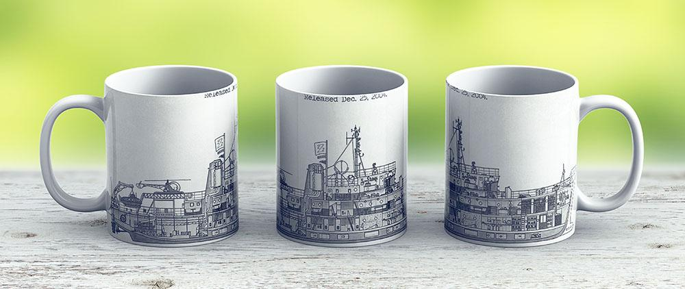 The Belafonte - Ceramic Coffee Mug - Gift Idea For Family And Friends
