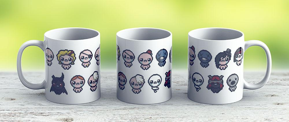 The Binding Of Isaac Characters - Ceramic Coffee Mug - Gift Idea For Family And Friends