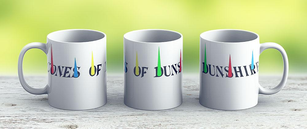 The Cones Of Dunshire - Parks And Recreation - Ceramic Coffee Mug - Gift Idea For Family And Friends