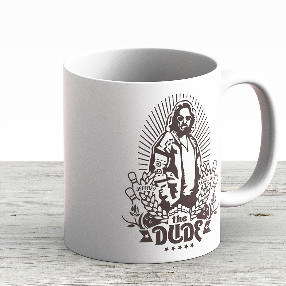 The Dude - Ceramic Coffee Mug - Gift Idea For Family And Friends