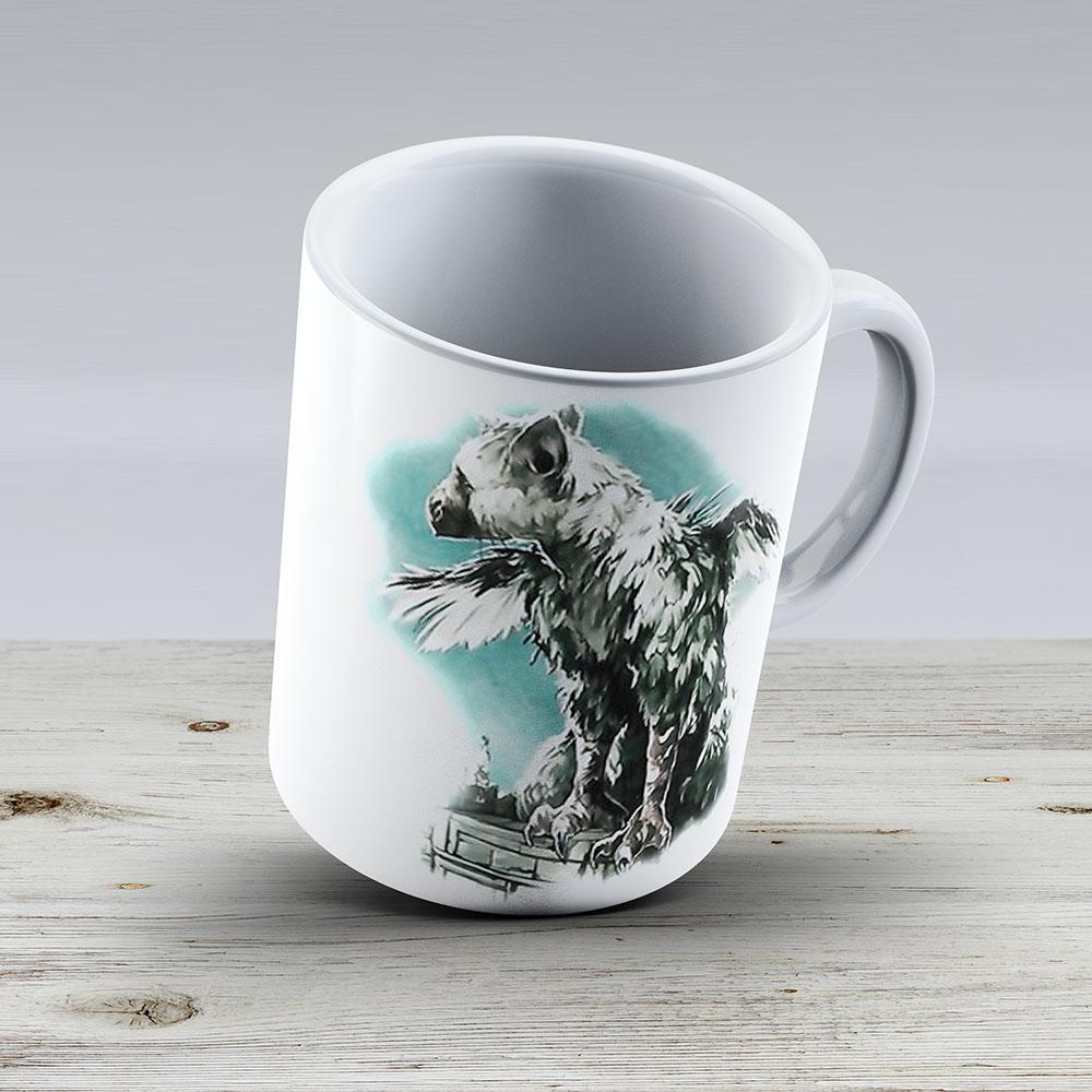 The Last Guardian - Vinyl Art - Ceramic Coffee Mug - Gift Idea For Family And Friends