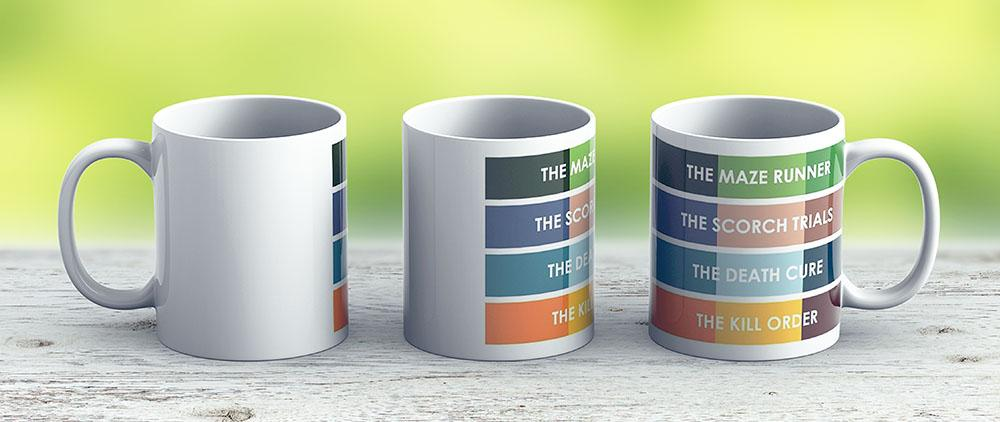 The Maze Runner Series In Basic Colors - Ceramic Coffee Mug - Gift Idea For Family And Friends