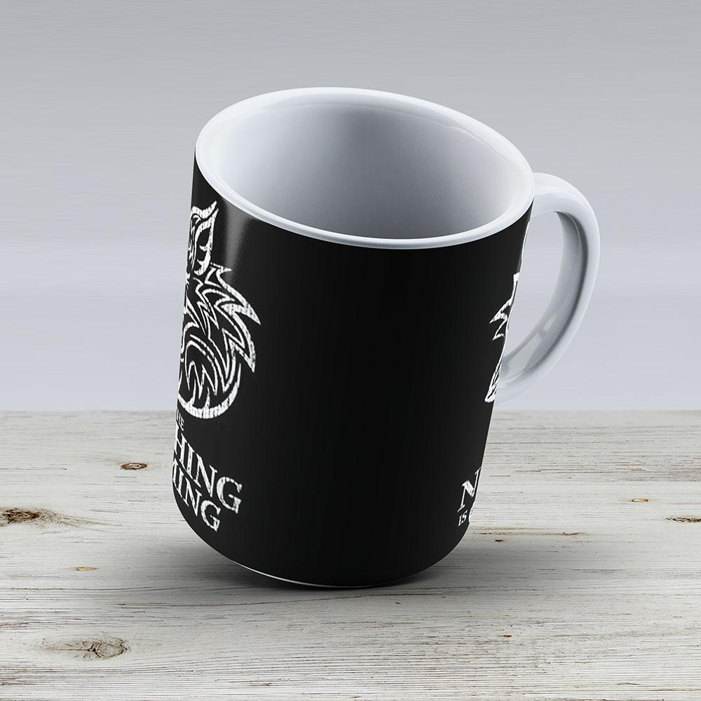 The Neverending Story - The Nothing Is Coming - Ceramic Coffee Mug - Gift Idea For Family And Friends