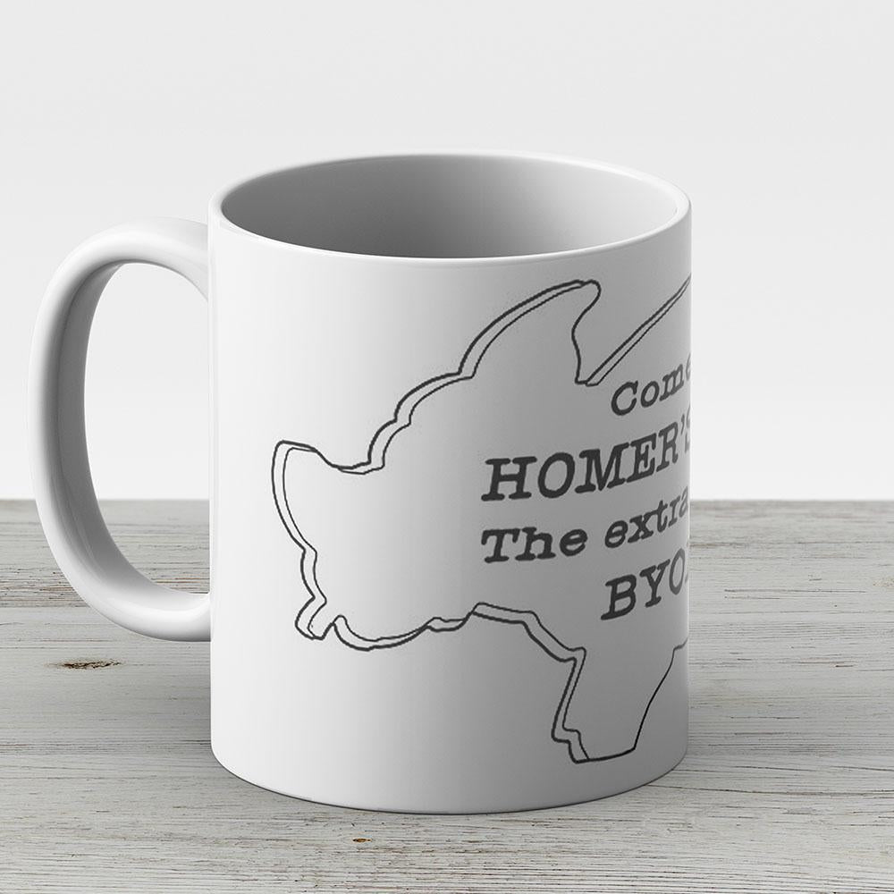 The Simpsons - Homers Bbbq - Ceramic Coffee Mug - Gift Idea For Family And Friends