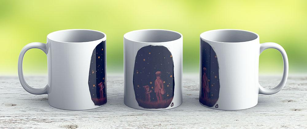 The Grave Of The Fireflies - Ceramic Coffee Mug - Gift Idea For Family And Friends