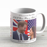 To Commemorate Royal Wedding Of Hrh Prince Harry And Meghan Markle - Ceramic Coffee Mug - Gift Idea For Family And Friends