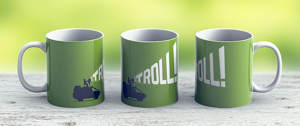 Troll Hunter - Ceramic Coffee Mug - Gift Idea For Family And Friends