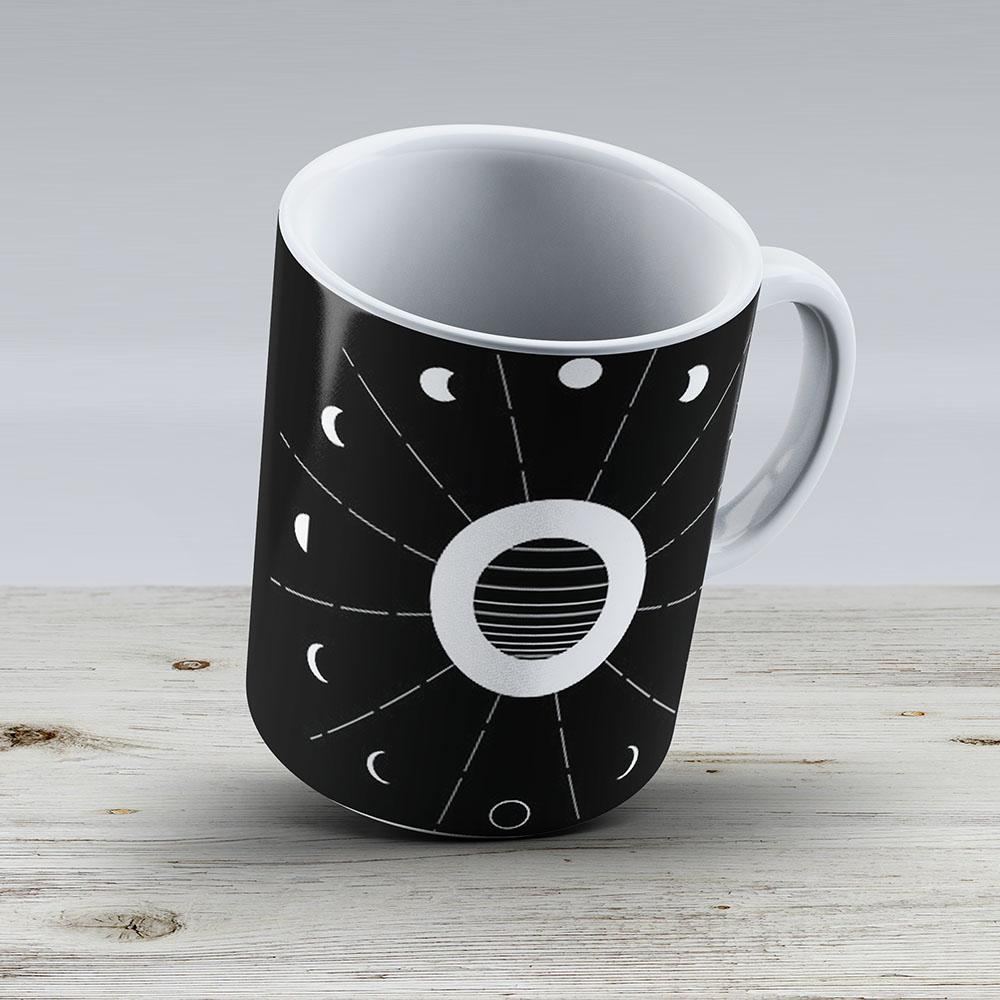 Twilight Moon Phases - Ceramic Coffee Mug - Gift Idea For Family And Friends
