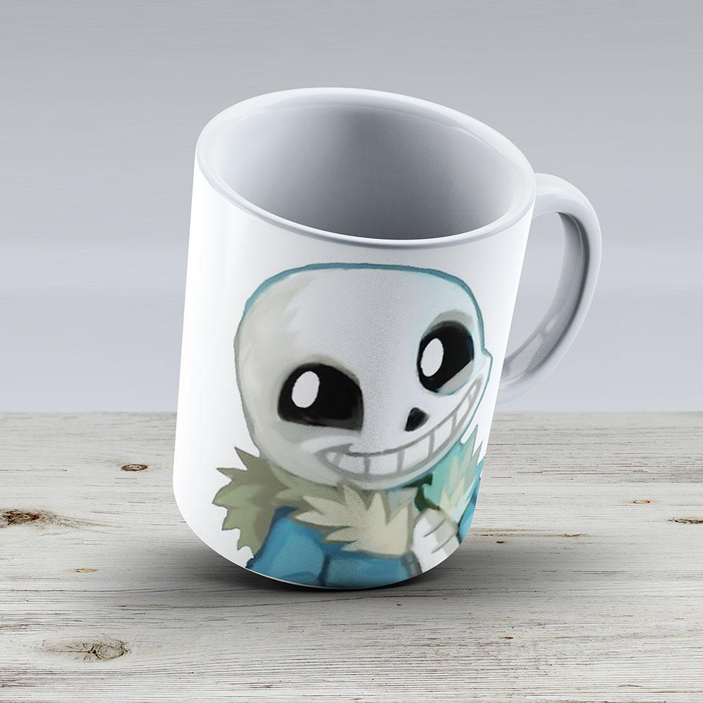 Undertale - Sans - Ceramic Coffee Mug - Gift Idea For Family And Friends