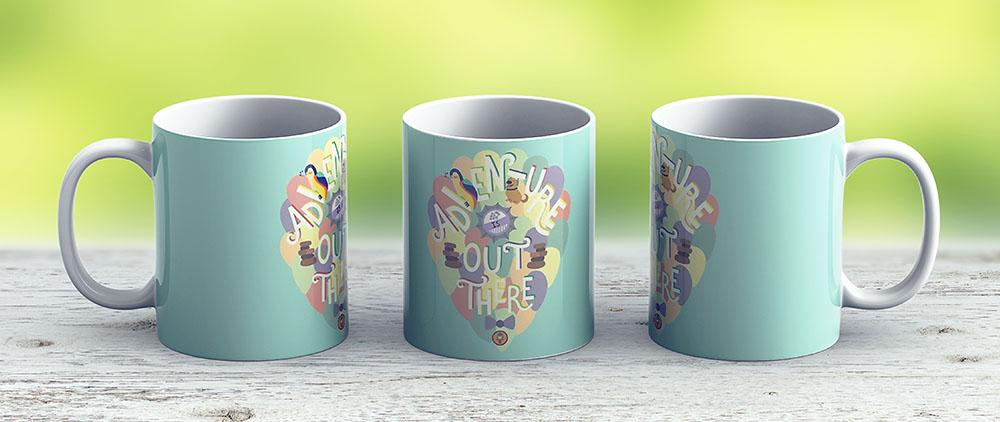 Up - Adventure Is Out There - Ceramic Coffee Mug - Gift Idea For Family And Friends