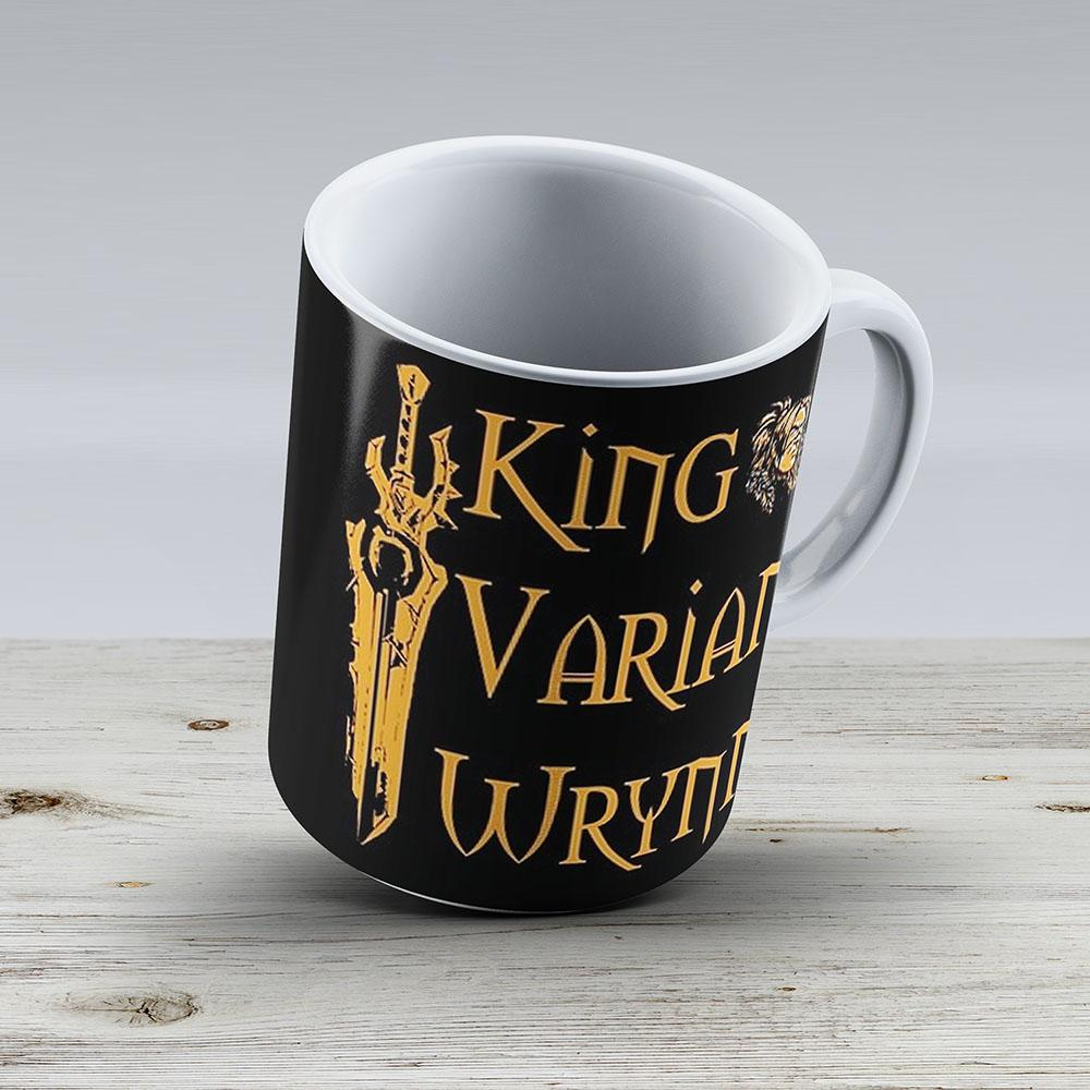 Warcraft - King Varian Wrynn - Ceramic Coffee Mug - Gift Idea For Family And Friends