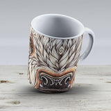 White Buffalo Calf - Ceramic Coffee Mug - Gift Idea For Family And Friends
