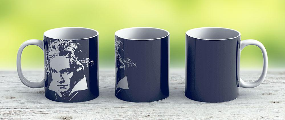 Beethoven - Ceramic Coffee Mug - Gift Idea For Family And Friends