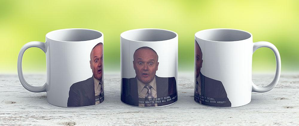 Creed Bratton - Ceramic Coffee Mug - Gift Idea For Family And Friends