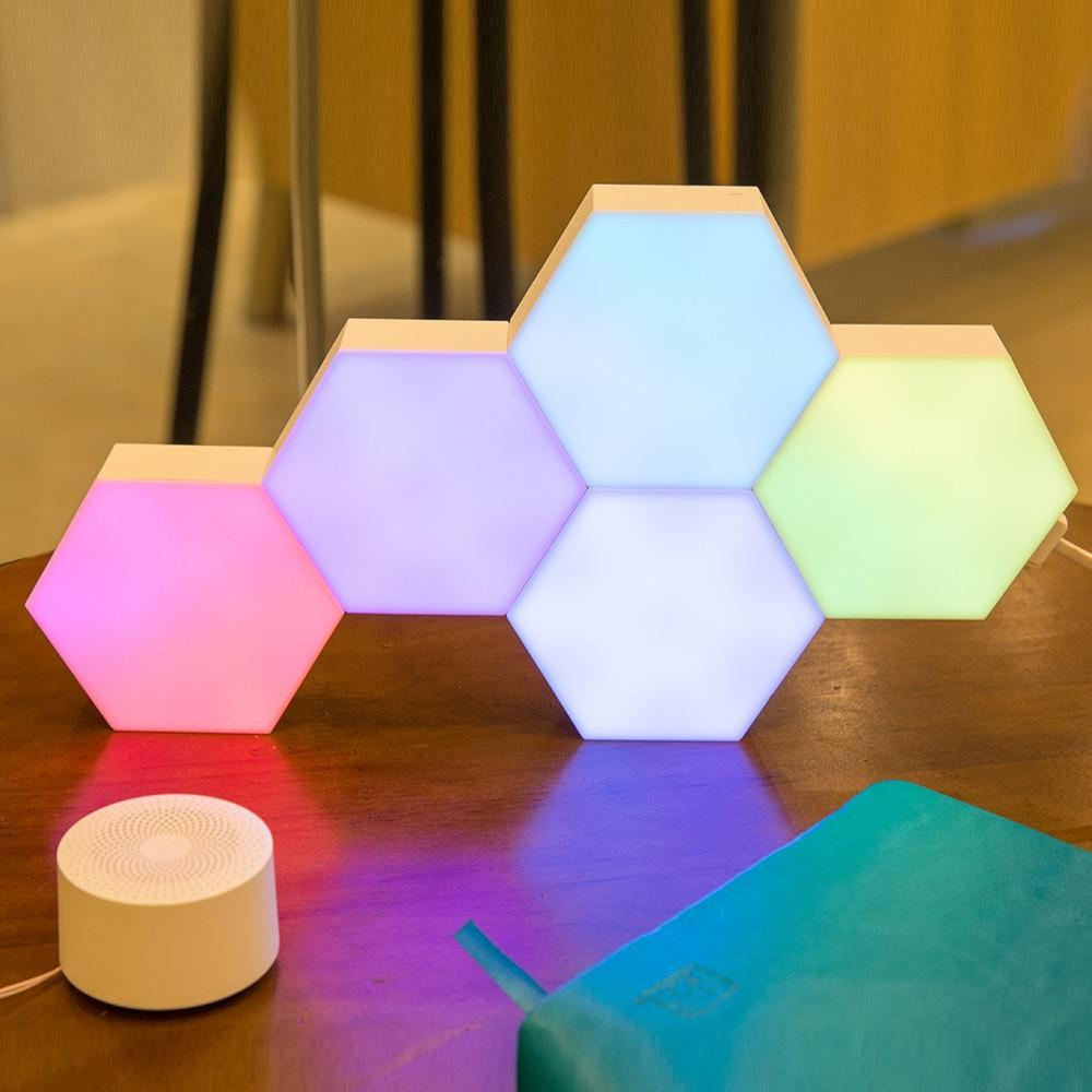 Diy Creative Quantum Led Smart Light - App Control Modular Smart Lighting Panel