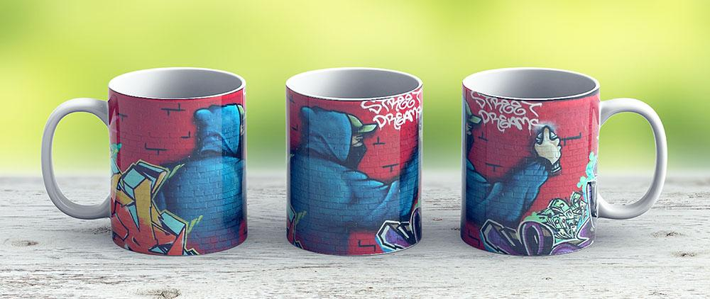 Graffiti - Ceramic Coffee Mug - Gift Idea For Family And Friends