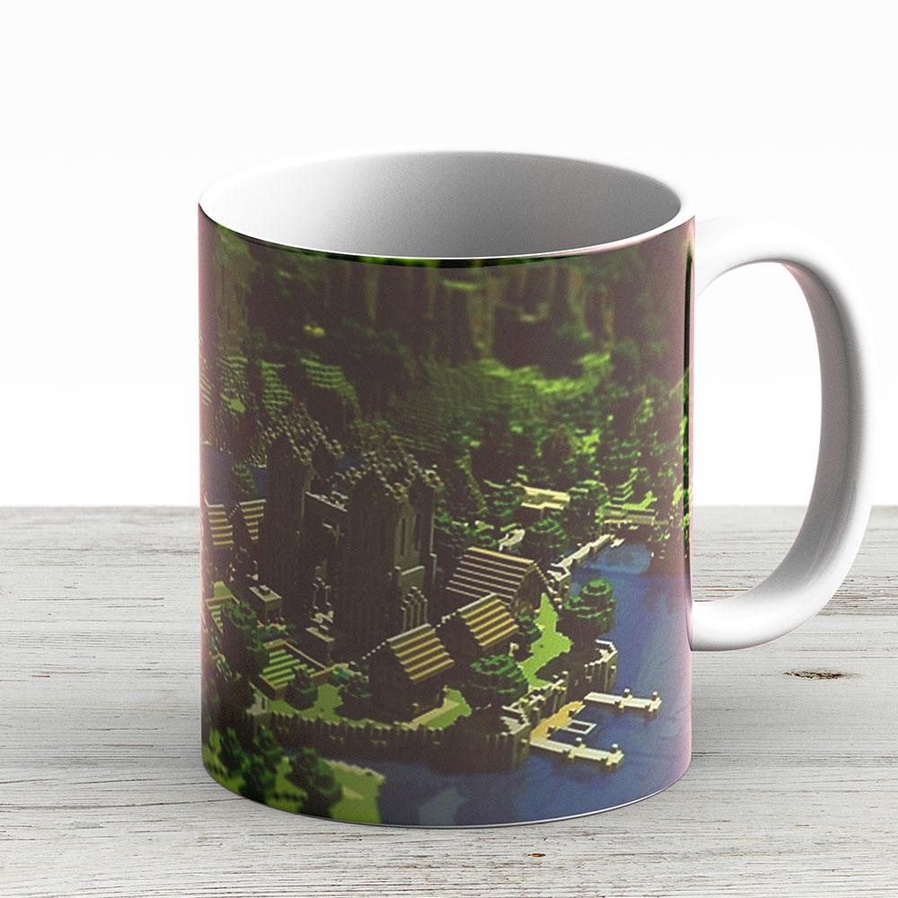 Minecraft - Ceramic Coffee Mug - Gift Idea For Family And Friends