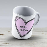 Noah Flynn Kissing Booth - Ceramic Coffee Mug - Gift Idea For Family And Friends
