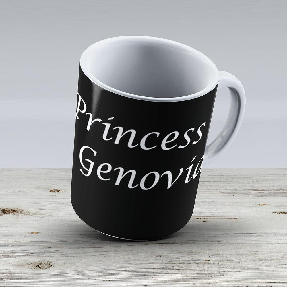 Princess Of Genovia White - Ceramic Coffee Mug - Gift Idea For Family And Friends