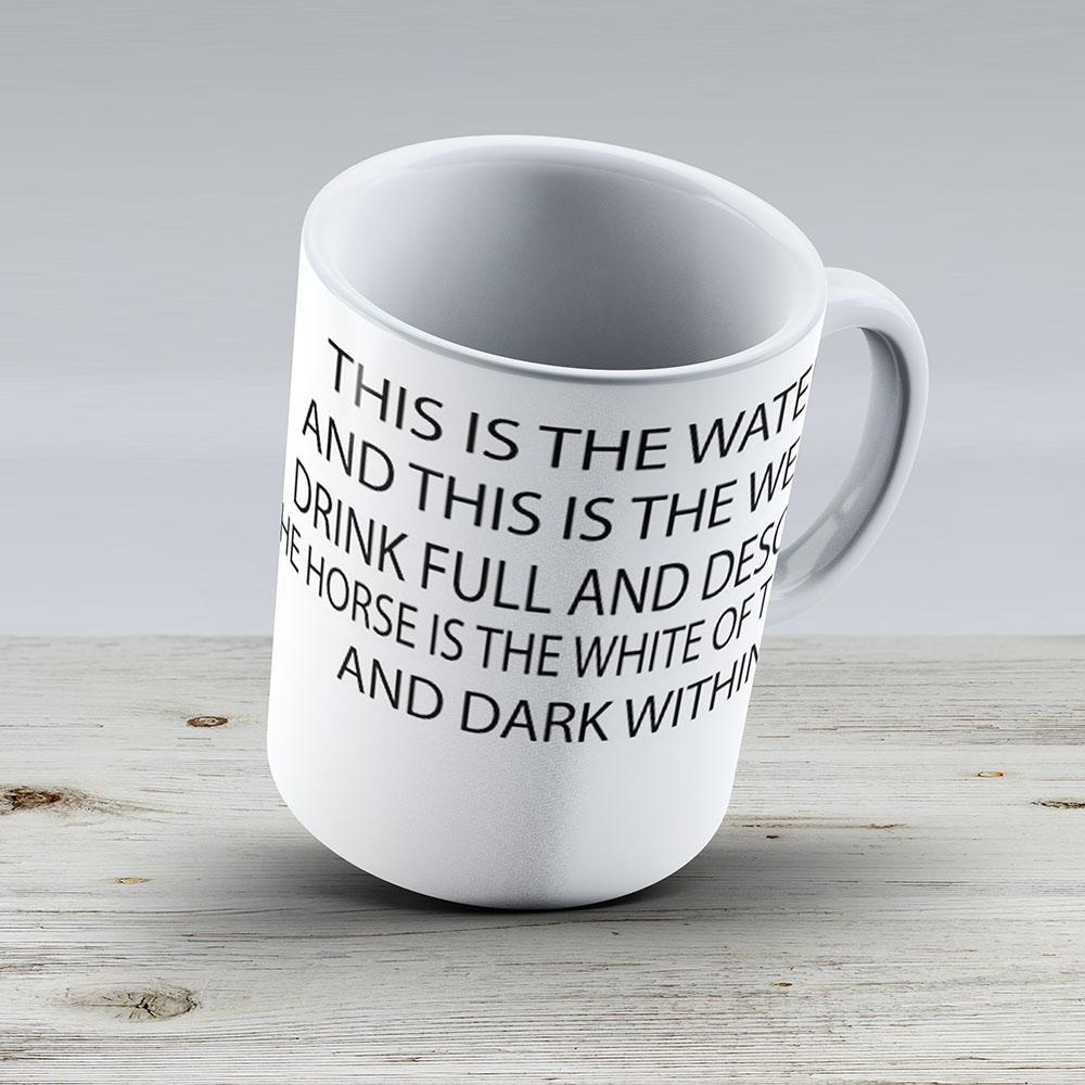 Twin Peaks Quote - Ceramic Coffee Mug - Gift Idea For Family And Friends