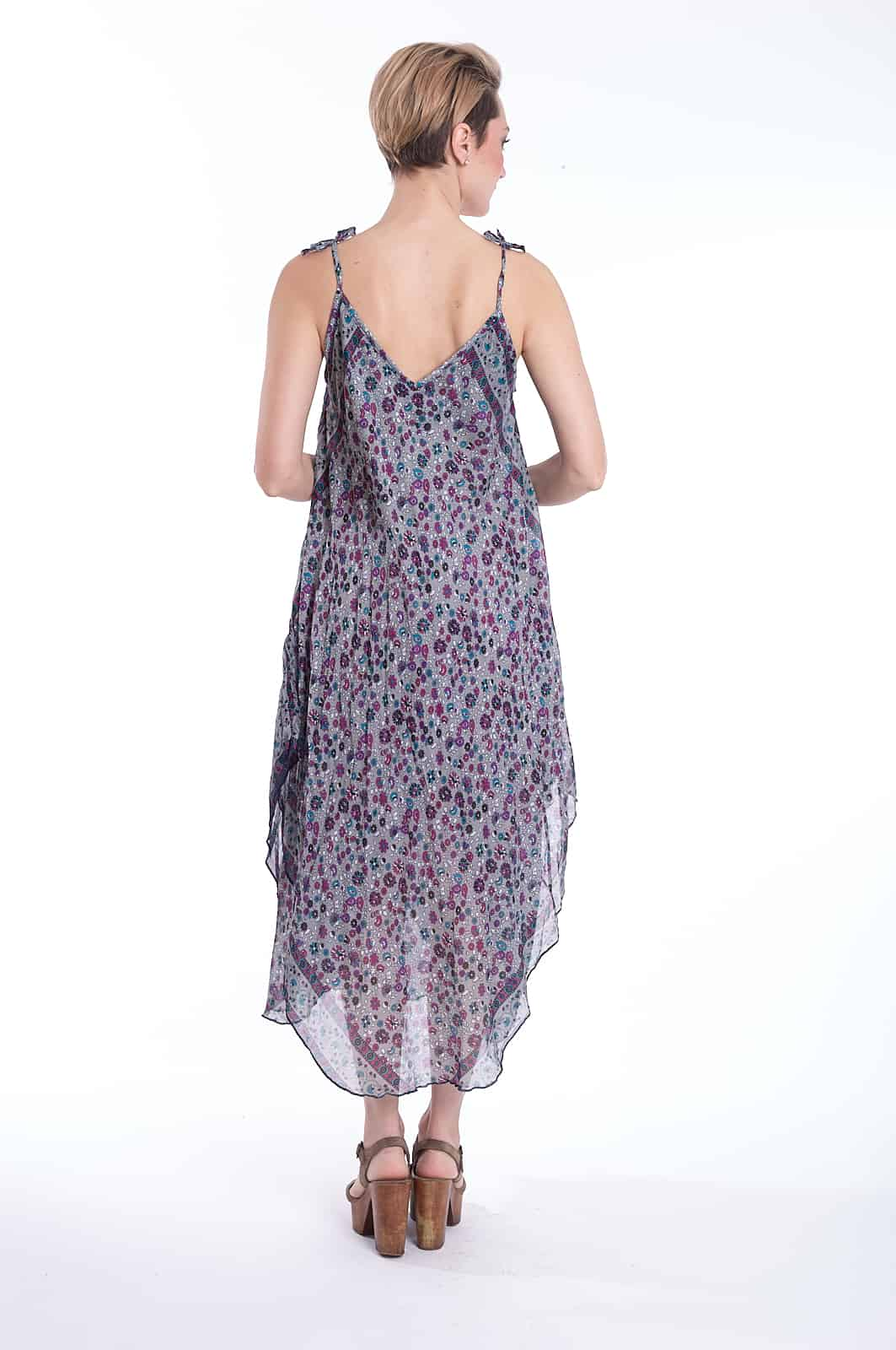 6102 | Meadow Print Maxi Dress