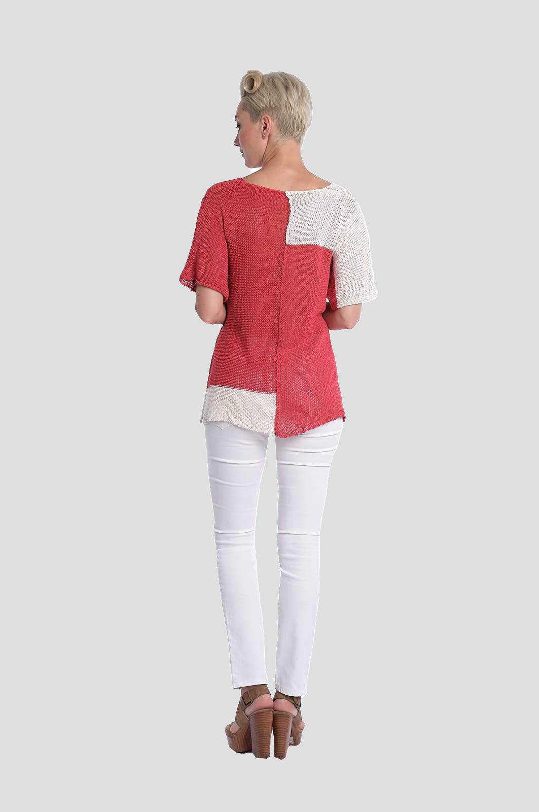 Colorblock Summer Sweater