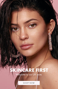 Skincare first. Welcome to UK Kylie Skin