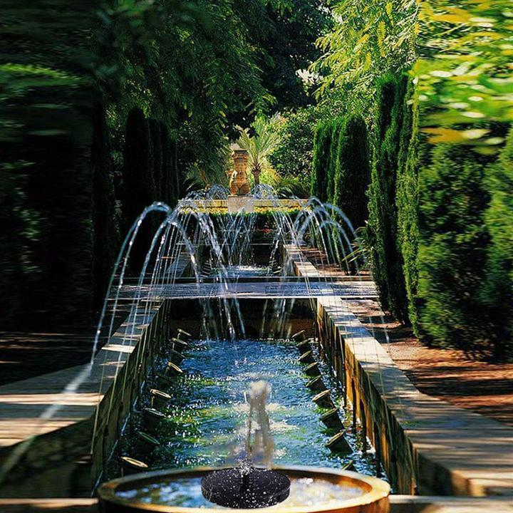 Summer Solar Powered Bionic Fountain(Buy 2 Free Shipping)