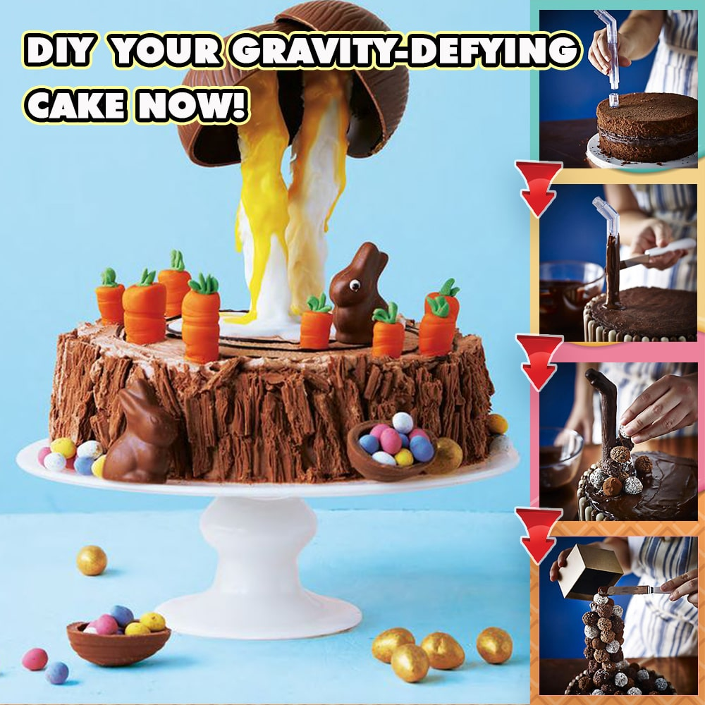 Anti-Gravity Pouring Cake Kit-Buy 2 Free Shipping