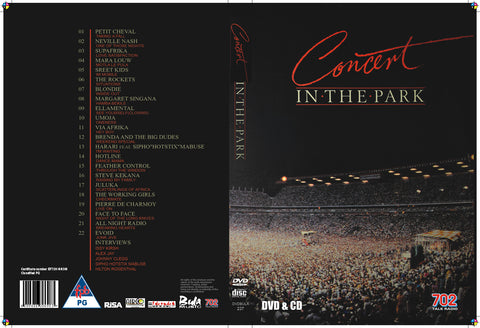 Concert In The Park (DVD/CD)