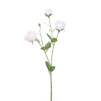Precious Rose Spray - 67cm (Ivory)