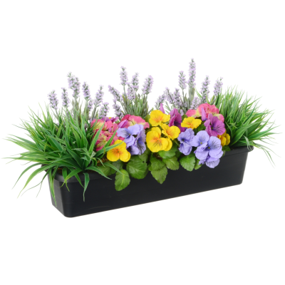 Lavender & Pansy Trough