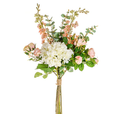 Luxury Mixed Bouquet - 83cm (Ivory/Blush)