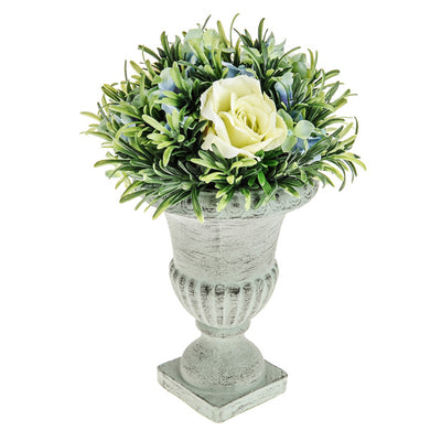 Darling Potted Arrangement - 30cm (Blue)
