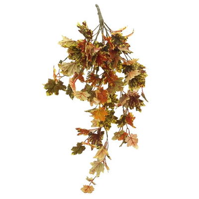 Autumnal Ivy Trail - 90cm  (Green/Brown/Orange)