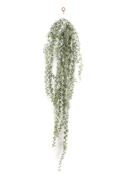 Larix Hanging Decoration with Snow - 1.2m