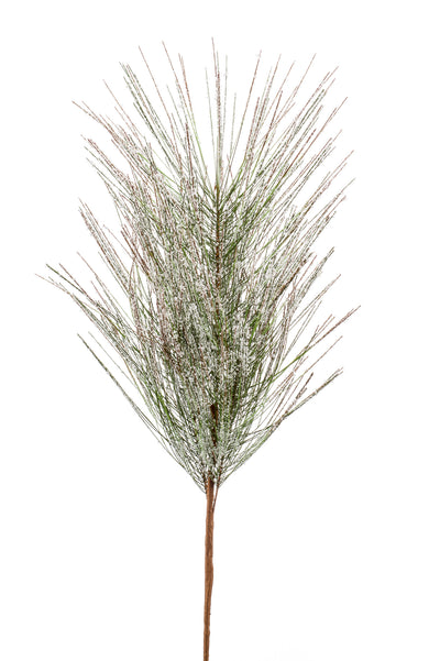 Pine Needle Spray with Snow - 60cm