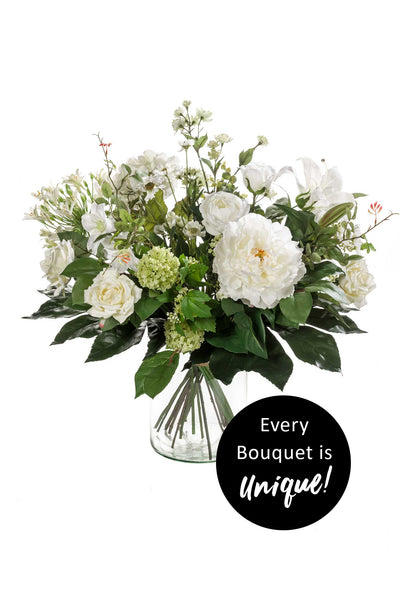 White Dream Bouquet (vase not included)