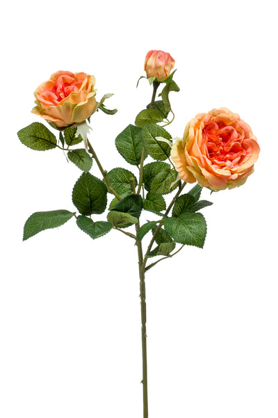 Rose Spray - 58cm (Orange)