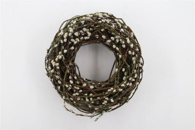 Pussy Willow Door Wreath - 45cm