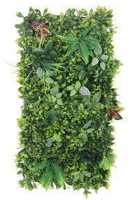 Lush Green Leaf Wall Panel