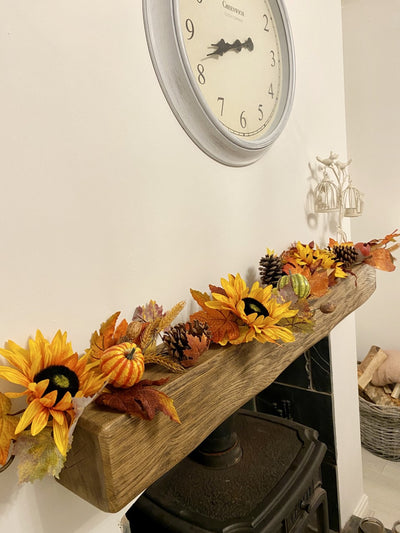 Luxury Autumnal Garland - 1.5m