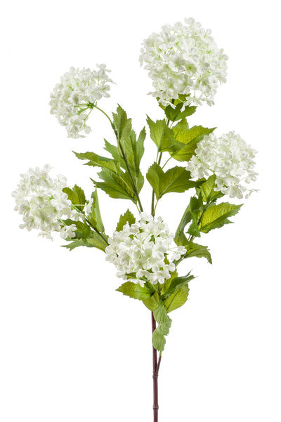 Viburnum Spray - 85cm (White)