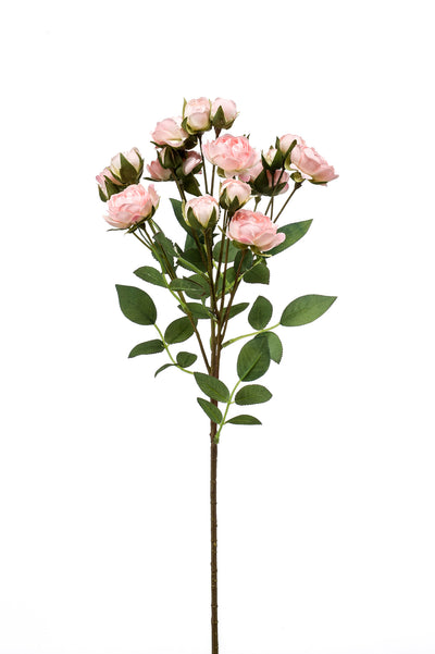 Mini Rose Spray - 57cm (Light Pink)