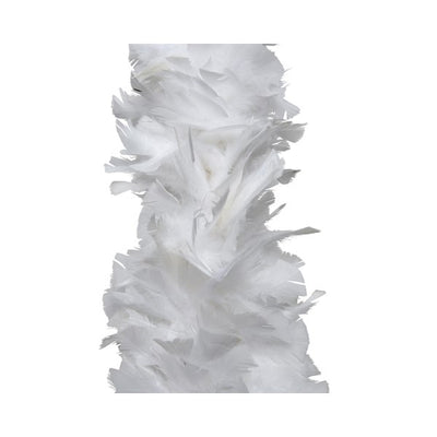 Deluxe Feather Boa Garland - 1.8m (White)