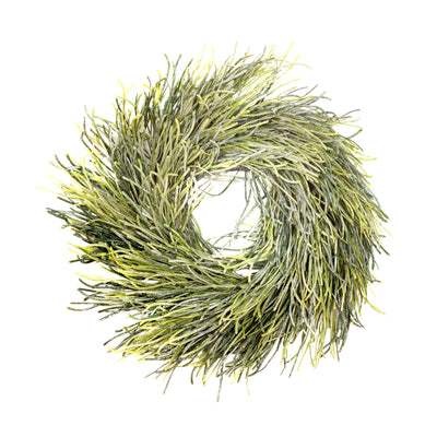 Glitter Grass Wreath - 45cm
