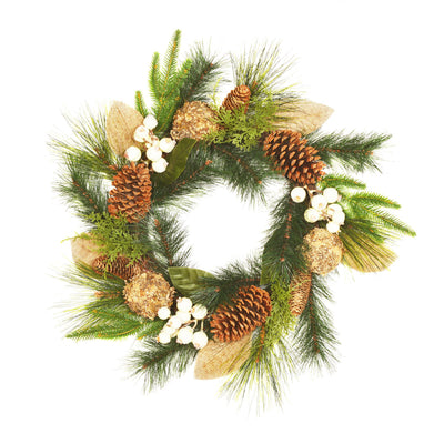 Christmas Woodland Wreath - 50cm