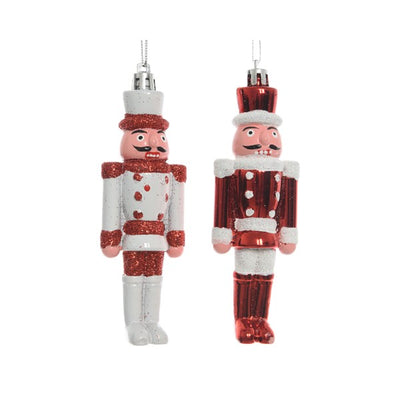 Nutcracker Christmas Tree Decoration - 12cm