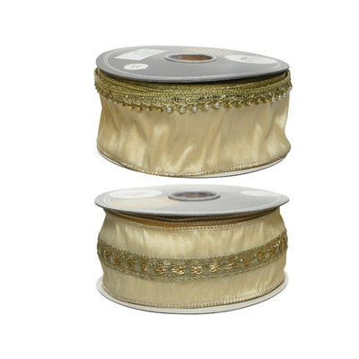 Gold Decorative Ribbon - 10m
