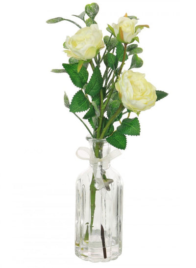 Frosted Rose Arrangement - 38cm